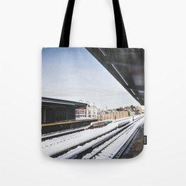 J Train Tote Bag