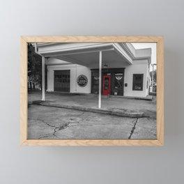 Flower Shop in selective color Framed Mini Art Print