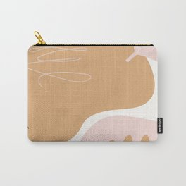 Abstract Pastel Spring Pattern Carry-All Pouch