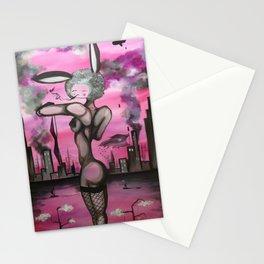 City Bunny Stationery Cards