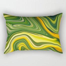 Sunny green marble Rectangular Pillow