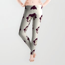baby monkey Leggings