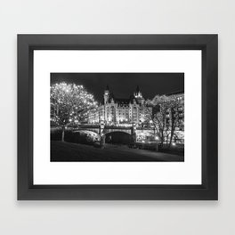 Sparkling Ottawa Framed Art Print