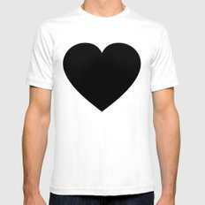 Groove Is In The Heart II SMALL White Mens Fitted Tee