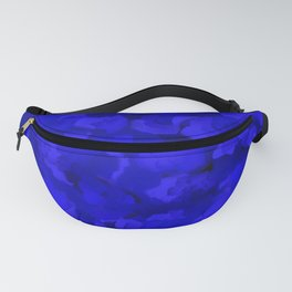 Rich Cobalt Blue Abstract Fanny Pack