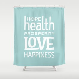 Wishing you... Shower Curtain