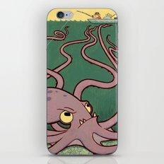 Evil Octopus iPhone & iPod Skin