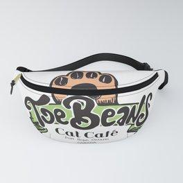 Toe Beans Cat Cafe Logo Fanny Pack