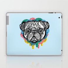 Pug Face Laptop & iPad Skin
