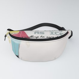 YOUR A** Fanny Pack