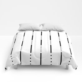 Morse Code #159 Comforters
