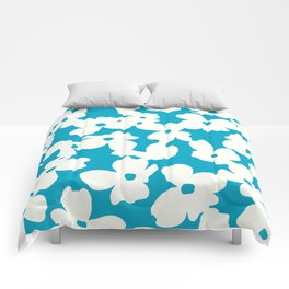 Dogwood: Caribbean Blue Comforters