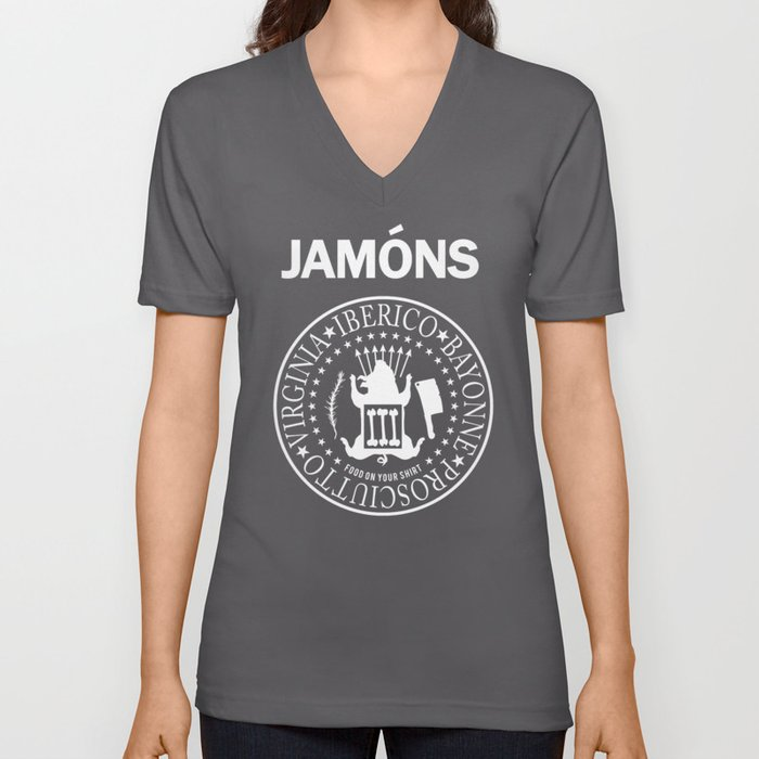 Jamons Unisex V-Neck
