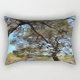 The Tangled Webs Of Trees Rectangular Pillow