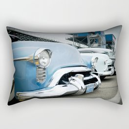 CLASSIC CARS AT THE TRACK Rectangular Pillow