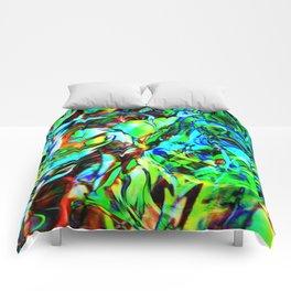 Fluid Painting 3 Comforters