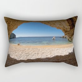 Out From Cave Rectangular Pillow