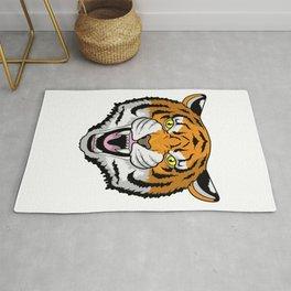 Tiger angry Rug