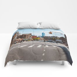 Downtown New York Comforters