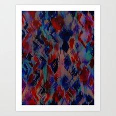 Ikat #3A Art Print