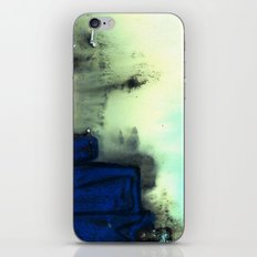blue rock iPhone & iPod Skin