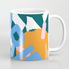 Retro Postmodern 80's Florida Travel Poster Coffee Mug