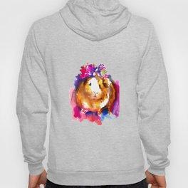 Guinea Pig in Flower Crown Hoody