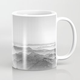 Balloon ride over the alps 2 Coffee Mug