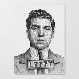 Lucky Crime Boss Canvas Print