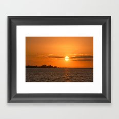 Sunrise Migration Framed Art Print