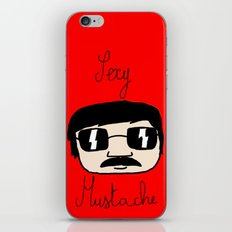 Sexy Mustache iPhone & iPod Skin