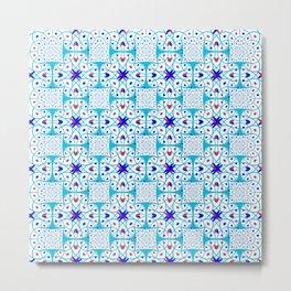 Intricate geometric pattern Metal Print