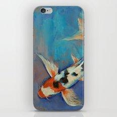 Sanke Butterfly Koi iPhone & iPod Skin