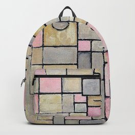 Composition 8 - Piet Mondrian Backpack