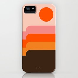 Honey Hills iPhone Case