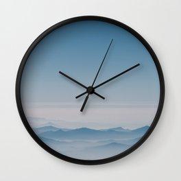 Sierra Madre del Sur Wall Clock