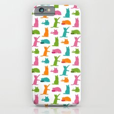 Cats Multicolor iPhone 6s Slim Case