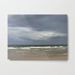 Clouds and Ocean 1 Metal Print