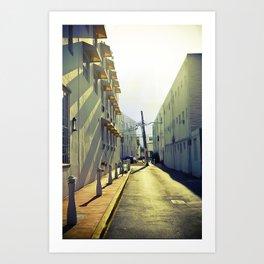 South Beach Sunrise Art Print