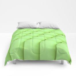 Green tubes Comforters