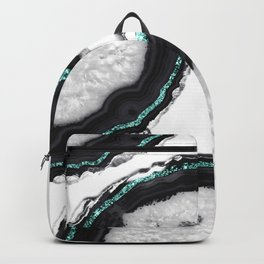 Agate Glitter Glam #16 #gem #decor #art #society6 Backpack