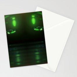 Nightly riverside, fog, lanterns ... Stationery Cards