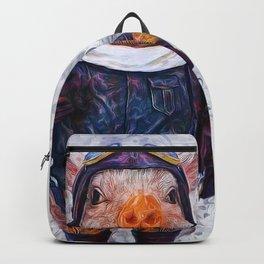 Steampunk Aviator Pig Backpack