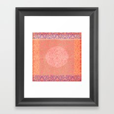 Coral Treat  Framed Art Print