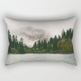 The Forest Lake Rectangular Pillow