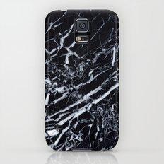Real Marble Black Slim Case Galaxy S5