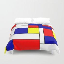 Mondrian #38 Duvet Cover