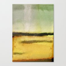 Three Lines Abstract Sunset  Canvas Print