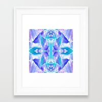 crystal Framed Art Prints featuring Crystal by Cs025