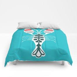 Summertime Lobster Comforters